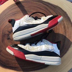 Nike Jordan Retro Dub Zero Red & White Toddler '05